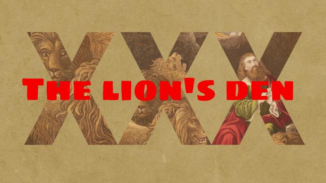 XXX:The Lion's Den